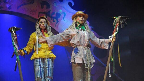 Актриса Театра Грибоедова Анна Николава - Sputnik Грузия