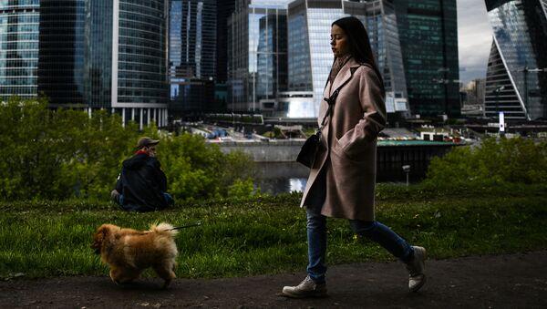 Москва во время режима самоизоляции жителей - Sputnik Грузия