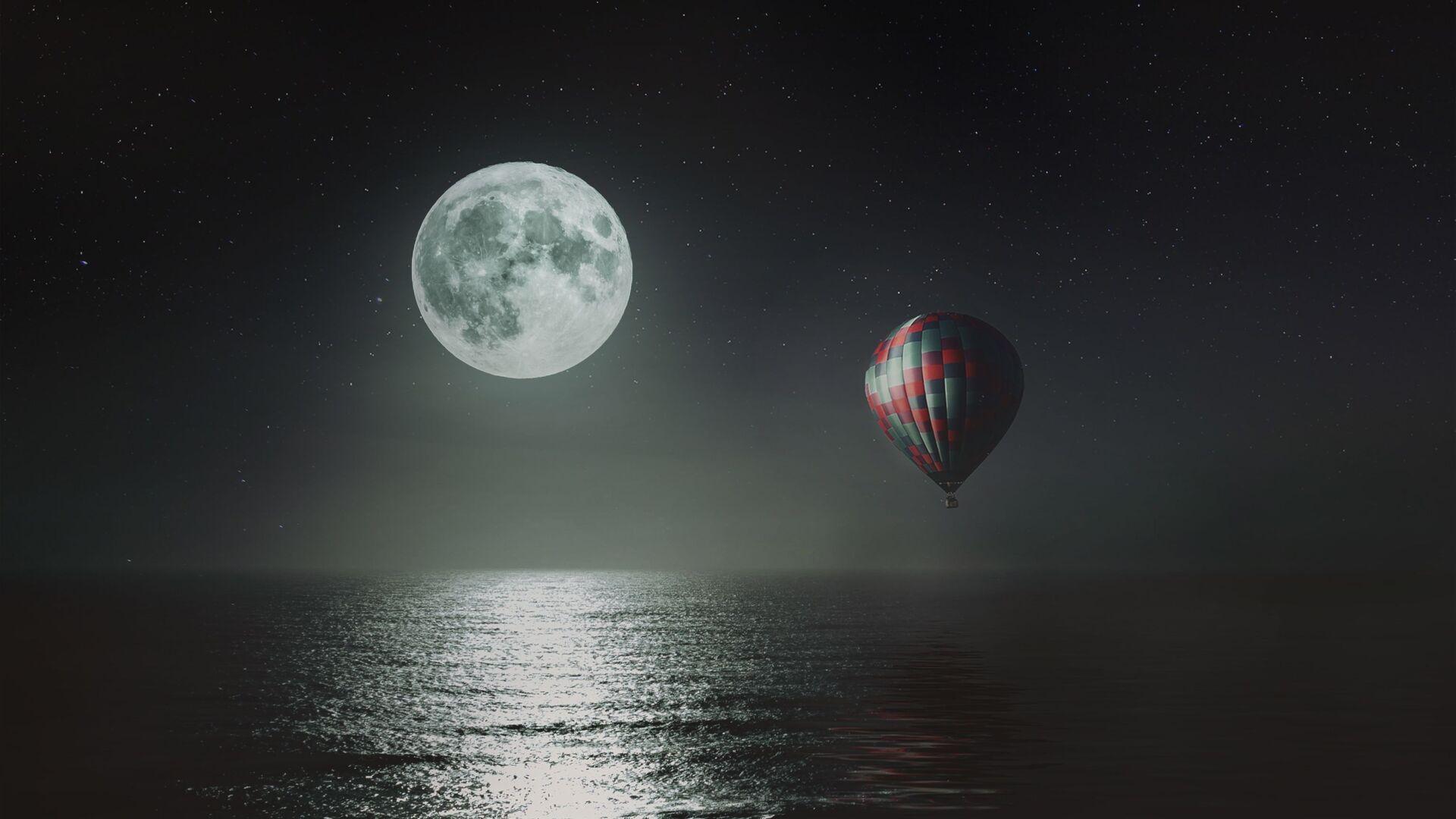სავსე მთვარე - Sputnik საქართველო, 1920, 19.09.2021