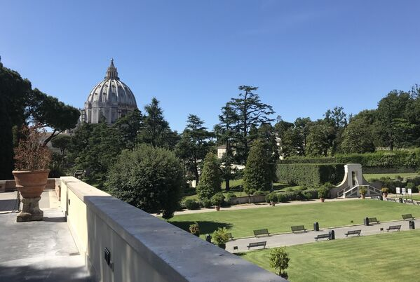 Вместе с ватиканскими музейными залами для публики возобновлено посещение папских вилл в городе Кастель-Гандольфо под Римом  - Sputnik Грузия