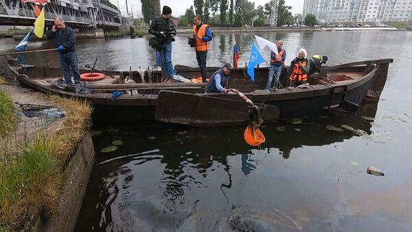 За чистое море: экоактивисты очистили от мусора водоемы Калининграда - Sputnik Грузия