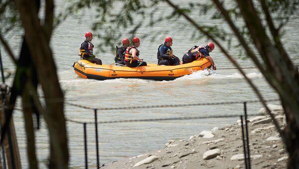 Поисково-спасательная операция на реке - Sputnik Грузия