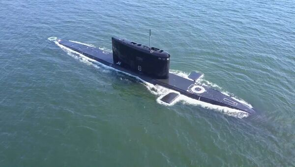 Как спасали подлодку: учения моряков в Калининградской области РФ - Sputnik Грузия