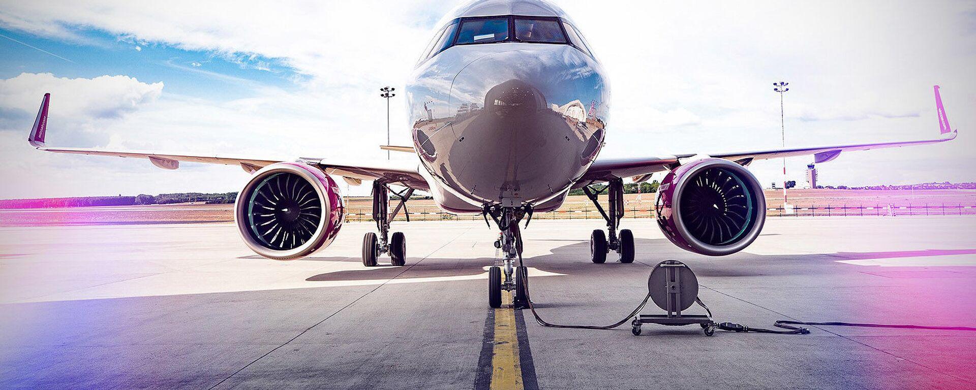 ავიაკომპანია Wizz Air-ის თვითმფრინავი - Sputnik საქართველო, 1920, 18.04.2021