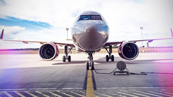 Пассажирский самолет авиакомпании Wizz Air - Sputnik Грузия