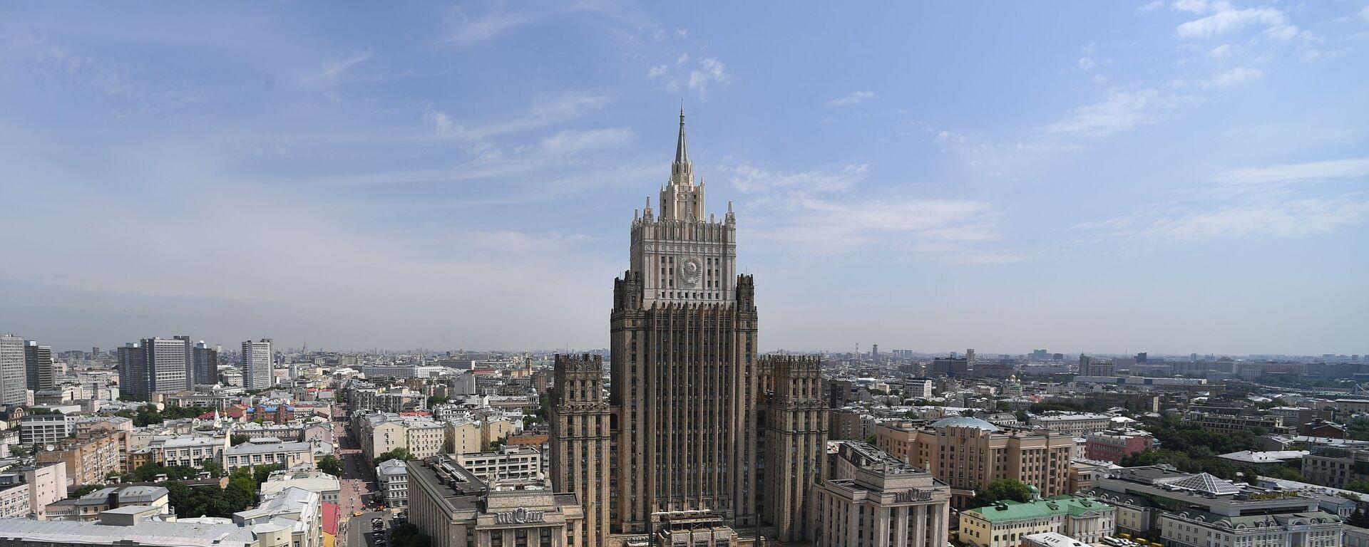 რუსეთის საგარეო საქმეთა სამინისტრო - Sputnik საქართველო, 1920, 16.04.2021