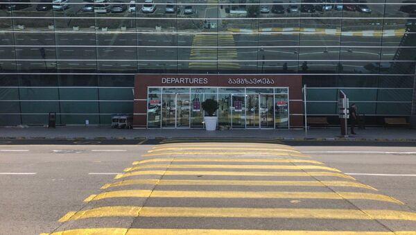 Опустевший международный аэропорт Тбилиси - Sputnik Грузия